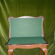 Antigüedades: MESA DE JUEGO DE ESTILO CHIPENDALE.. Lote 49873796