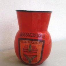 Antigüedades: JARRA PORCELANA ROJA. Lote 49883999