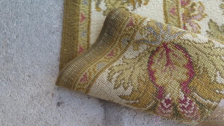 Antiques: GRAN ALFOMBRA DE NUDO. BONITA ORNAMENTACION. GRANDE - Foto 7 - 138610026