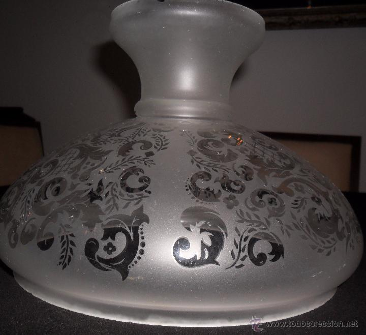 ANTIGUA TULIPA (Antigüedades - Iluminación - Otros)