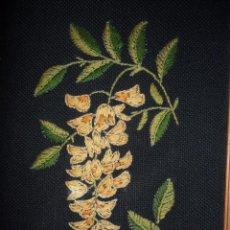 Antiquitäten - Antiguo bordado enmarcado - 49898049