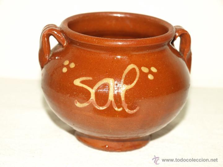 Salero de cocina de ceramica barro vidriado 8 comprar for Utensilios de cocina de ceramica