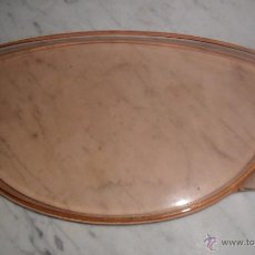 Antigüedades: BANDEJA CRISTAL ART DECO. Lote 49899238