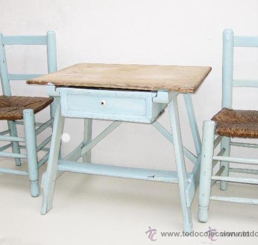 solo la mesa !! tocinera madera antigua tociner - Comprar Mesas ...