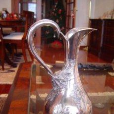 Antigüedades: JARRA DE PLATA DE LEY, PRECIOSA. Lote 49906595