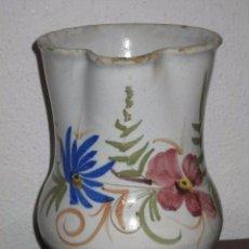 Antigüedades: ANTIGUA JARRA EN CERAMICA DE MANISES O LEVANTINA - SIGLO XIX. Lote 139284173
