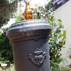 Antigüedades: ANTIGUA ESTUFA DE LEÑA. RESTAURADA.. Lote 49921888