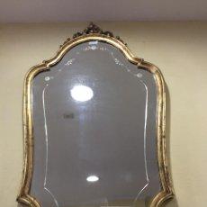 Antigüedades: ESPEJO ANTIGUO PAN DE ORO. Lote 49924562