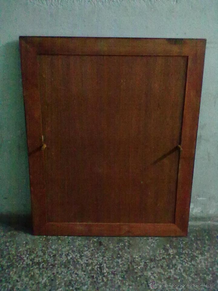 Antigüedades: MESA CAOBA EXTENSIBLE DE COMEDOR PARA RESTAURAR - Foto 13 - 49928103