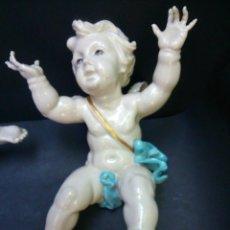 Antigüedades: * ALGORA: ANGEL DE LA VOLTERETA .16CM.. Lote 49951466