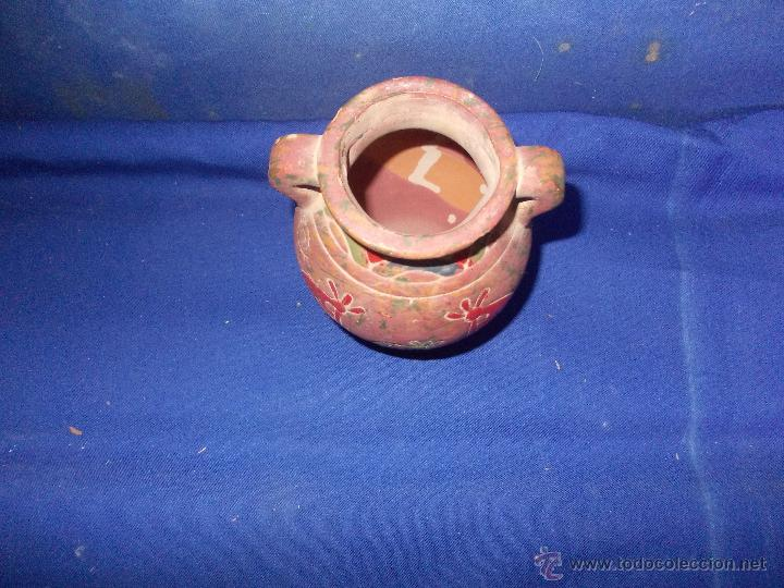 Antigüedades: vasija de barro con figuras - Foto 5 - 49956898