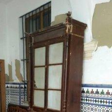 Antigüedades: MUEBLE ALACENA LEER. Lote 49964582