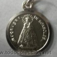 Antigüedades: MEDALLA VIRGEN SONSOLES EN PLATA DE LEY - 20MM. Lote 49976392