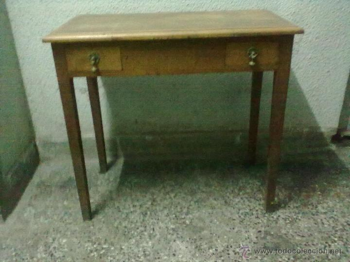 Mesa tocador para restaurar comprar mesas antiguas en for Antiguedades para restaurar
