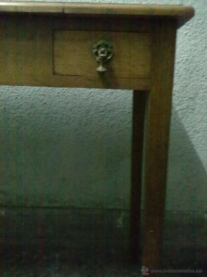 Antigüedades: MESA TOCADOR PARA RESTAURAR - Foto 2 - 49982257