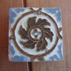 Antigüedades: AZULEJO MUDEJAR TRIANA O TOLEDO SIGLO XVI APROX. Lote 49985796
