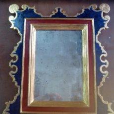 Antigüedades: MARCO DORADO EN ORO FINO 23K. Lote 50000173
