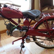 Antigüedades: MOTO GUZZI HISPANIA DE 65CC. Lote 50016445