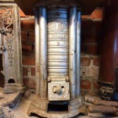 Antigüedades: ESTUFA ANTIGUA ERCMAX 2 PATENTADA - ESCASA - VER DESCRIPCION. Lote 50020419