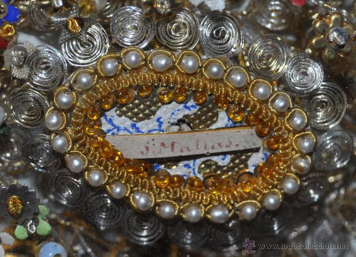 Antigüedades: SENSACIONAL RELICARIO CON 12 RELIQUIAS DE SANTOS DEL SIGLO XIX - Foto 2 - 50034040