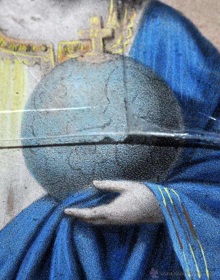 Antigüedades: SENSACIONAL RELICARIO CON 12 RELIQUIAS DE SANTOS DEL SIGLO XIX - Foto 17 - 50034040