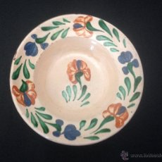 Antigüedades: PLATO LEBRILLO. CERÁMICA POPULAR. Lote 52816339