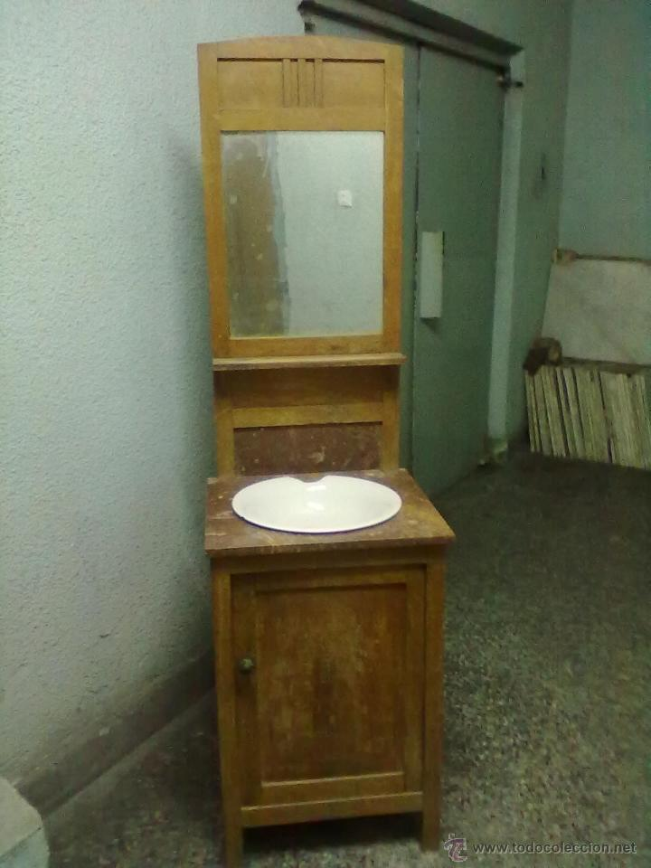Mueble lavabo para restaurar comprar muebles auxiliares - Vendo muebles antiguos para restaurar ...
