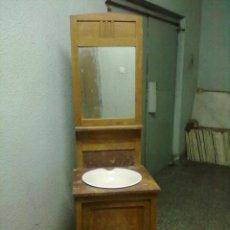 Antigüedades: MUEBLE LAVABO PARA RESTAURAR.. Lote 50050941