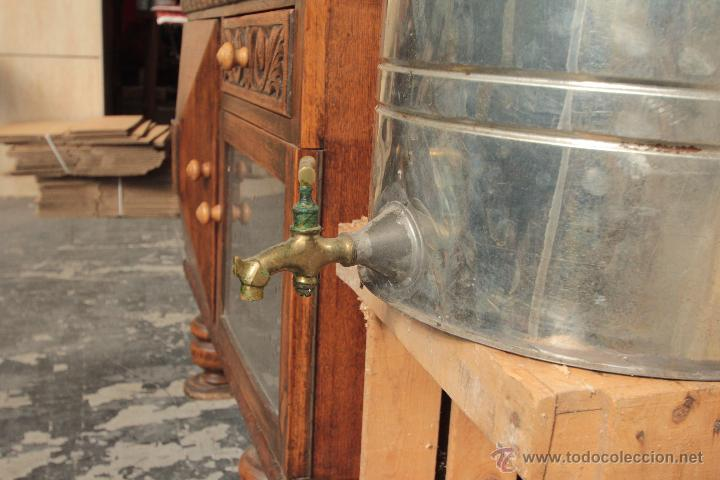 Antigüedades: Bidón o aceitera grande, con grifo - Foto 4 - 50052528