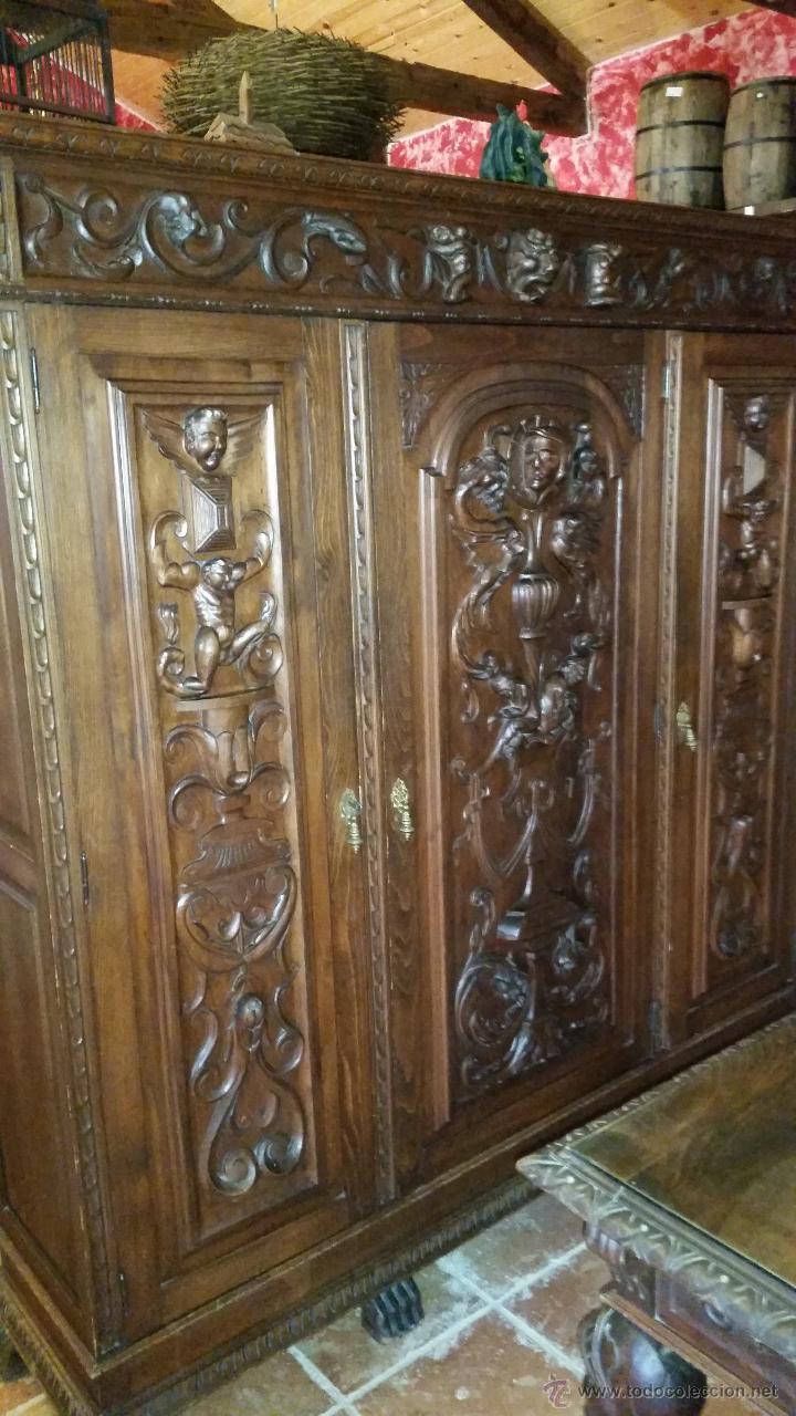 Antigüedades: DESPACHO TALLADO - Foto 2 - 50058216