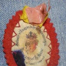 Antigüedades: ANTIGUO ESCAPULARIO DE TELA 6 CM . Lote 50066766
