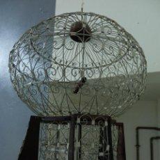 Antiques - jaula artesanía decoracion vintage Marruecos, Marrakech, Tanger, Tetuan, Rabat, 45 x 35 cm - 100166856