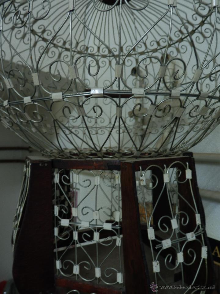 Antigüedades: jaula artesanía decoracion vintage Marruecos, Marrakech, Tanger, Tetuan, Rabat, 45 x 35 cm - Foto 3 - 100166856