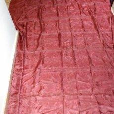 Antigüedades: COLCHA ANTIGUA DE SEDINA CHINESCA. Lote 50073888