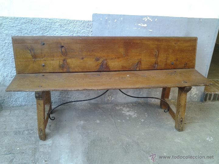 banco de madera - Comprar Muebles Auxiliares Antiguos en ...