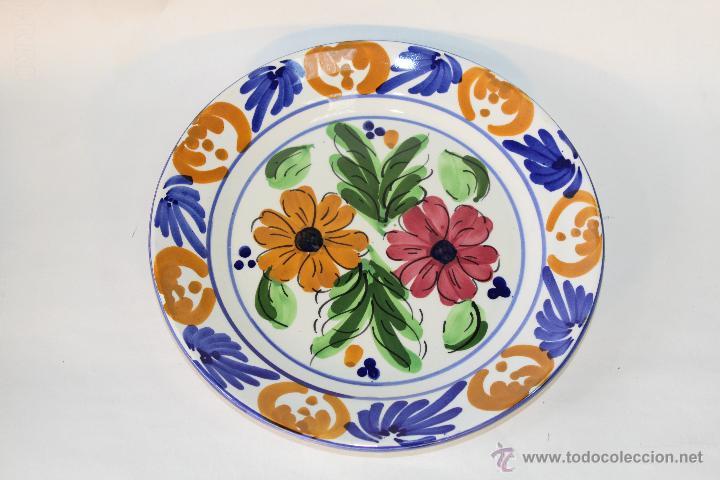 Plato en ceramica para colgar comprar platos antiguos en - Platos decorativos pared ...