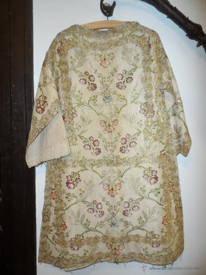 Antigüedades: CASULLAS Y VESTIMENTAS RELIGIOSAS ANTIGUAS - Foto 3 - 160200426