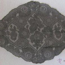 Antigüedades: ANTIGUA MANTILLA DE ENCAJE. Lote 83417711