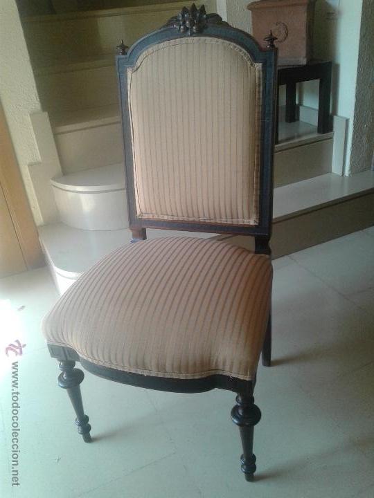 Juego de antiguas sillas alfonsinas restauradas comprar - Sillas antiguas restauradas ...