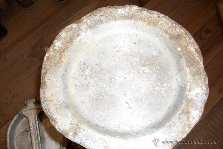 Antigüedades: ANTIGUA LECHERA ITALIANA DE ALUMINIO-AÑO 1930-GUINZIO-ROSSI & C - Foto 6 - 50132905