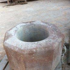 Antigüedades: BROCAL DE PIEDRA. Lote 50133021