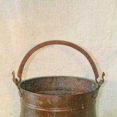 Antigüedades: OLLA-CUBO-CALDERO EN COBRE . Lote 50150892