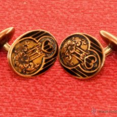 Antigüedades: BONITOS GEMELOS PARA HOMBRE, VINTAGE 50-60. Lote 53483249