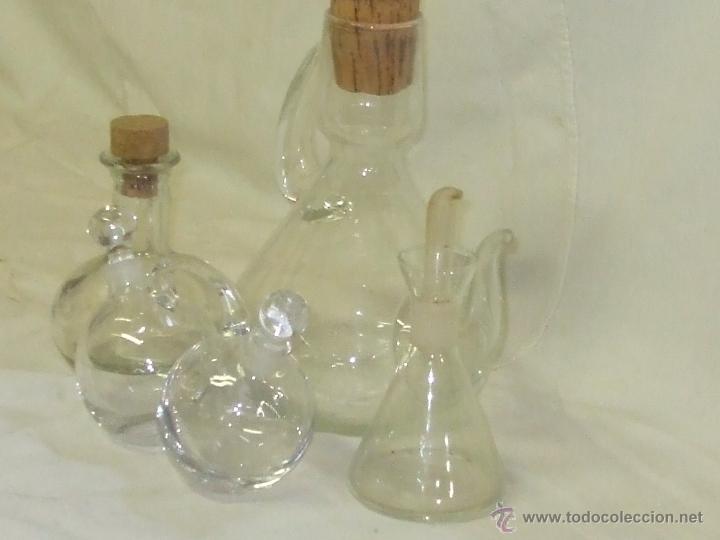 Lote aceiteras de cristal comprar objetos cristal y vidrio antiguo en todocoleccion 89588782 - Aceiteras de cristal ...