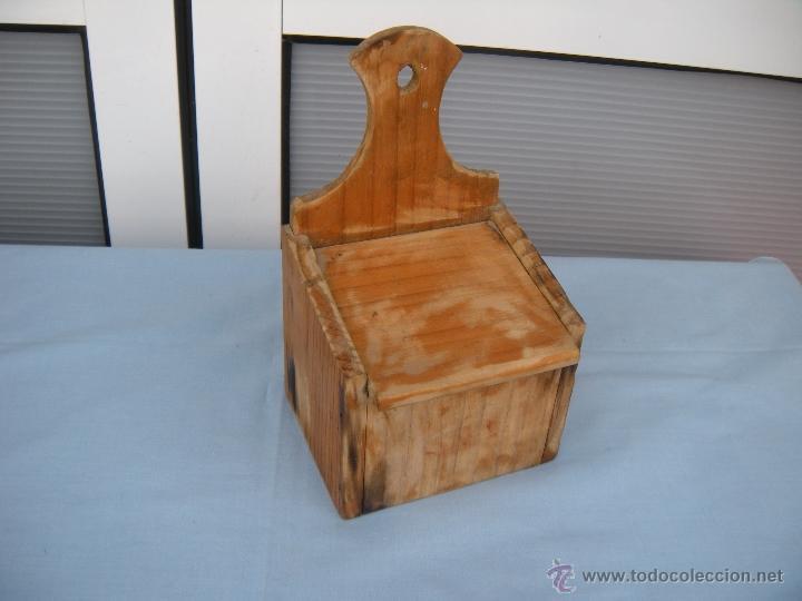 Cocina salero de madera comprar utensilios del hogar for Utensilios de hogar
