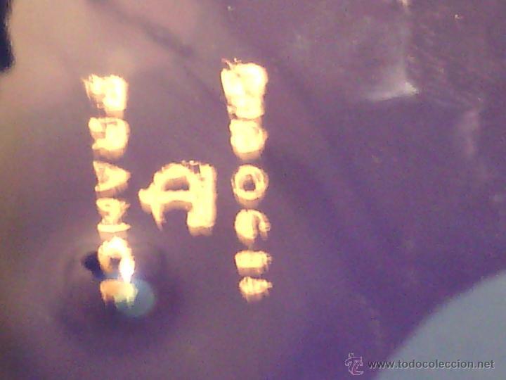 Antigüedades: PLATO DECORATIVO DE LIMOGES. PORCELANA BLEU DU ROI Y ORO FINO. - Foto 5 - 50185887