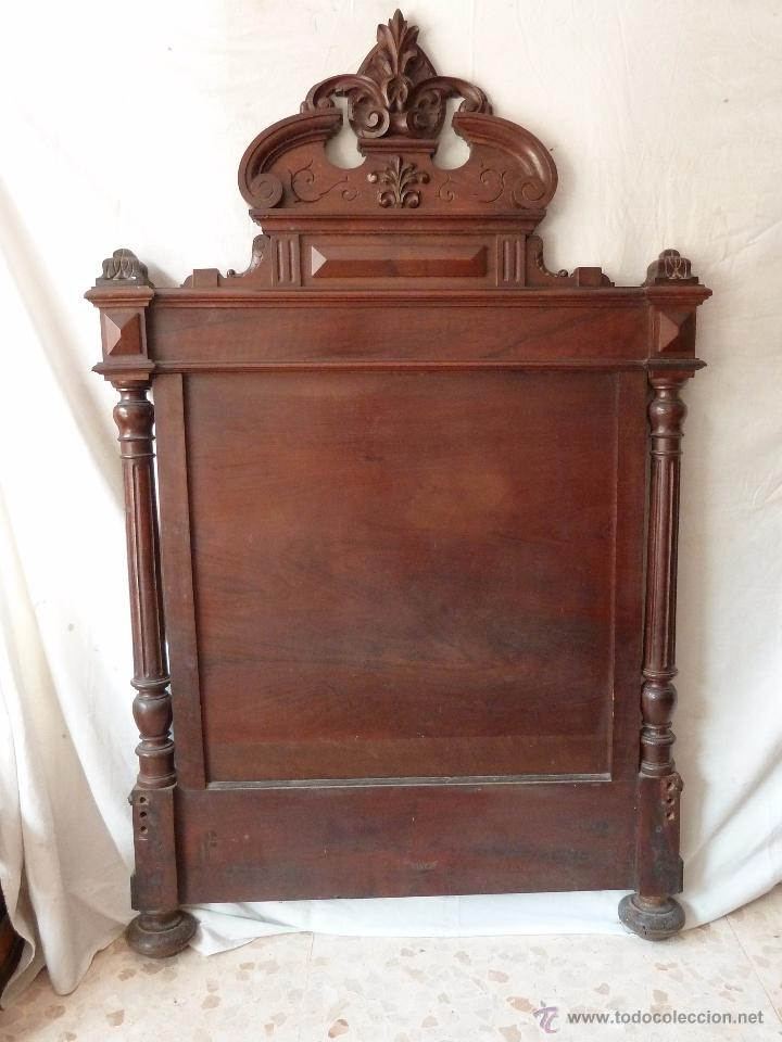 CAMA ALFONSINA DE FINALES DEL S.XIX – COMPLETA – ANCHO 102 CM (Antigüedades - Muebles Antiguos - Camas Antiguas)