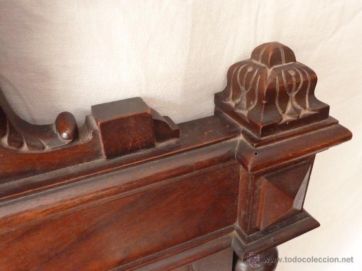 Antigüedades: CAMA ALFONSINA DE FINALES DEL S.XIX – COMPLETA – ANCHO 102 CM - Foto 4 - 50191409