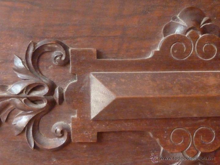 Antigüedades: CAMA ALFONSINA DE FINALES DEL S.XIX – COMPLETA – ANCHO 102 CM - Foto 10 - 50191409