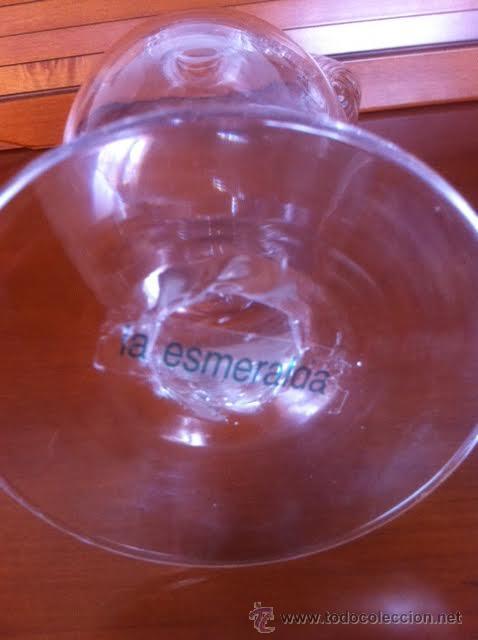 Antigüedades: Preciosa jarra cristal de la firma La Esmeralda - Foto 4 - 50198662